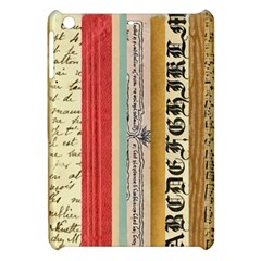 Digitally Created Collage Pattern Made Up Of Patterned Stripes Apple Ipad Mini Hardshell Case