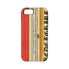 Digitally Created Collage Pattern Made Up Of Patterned Stripes Apple Iphone 5 Classic Hardshell Case (pc+silicone)