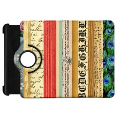 Digitally Created Collage Pattern Made Up Of Patterned Stripes Kindle Fire Hd 7
