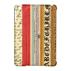 Digitally Created Collage Pattern Made Up Of Patterned Stripes Apple iPad Mini Hardshell Case (Compatible with Smart Cover)