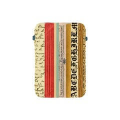 Digitally Created Collage Pattern Made Up Of Patterned Stripes Apple Ipad Mini Protective Soft Cases