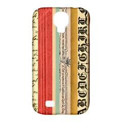 Digitally Created Collage Pattern Made Up Of Patterned Stripes Samsung Galaxy S4 Classic Hardshell Case (pc+silicone)