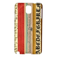 Digitally Created Collage Pattern Made Up Of Patterned Stripes Samsung Galaxy Note 3 N9005 Hardshell Case
