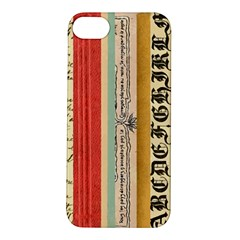 Digitally Created Collage Pattern Made Up Of Patterned Stripes Apple Iphone 5s/ Se Hardshell Case