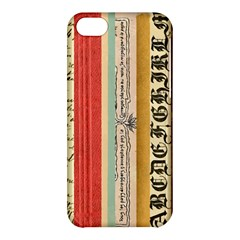 Digitally Created Collage Pattern Made Up Of Patterned Stripes Apple Iphone 5c Hardshell Case