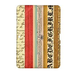 Digitally Created Collage Pattern Made Up Of Patterned Stripes Samsung Galaxy Tab 2 (10 1 ) P5100 Hardshell Case