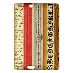 Digitally Created Collage Pattern Made Up Of Patterned Stripes Amazon Kindle Fire Hd (2013) Hardshell Case