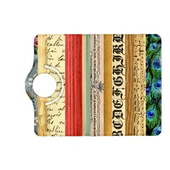 Digitally Created Collage Pattern Made Up Of Patterned Stripes Kindle Fire Hd (2013) Flip 360 Case