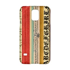 Digitally Created Collage Pattern Made Up Of Patterned Stripes Samsung Galaxy S5 Hardshell Case