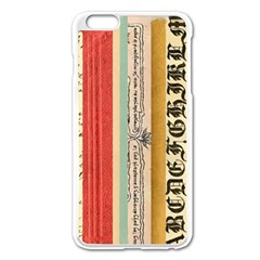 Digitally Created Collage Pattern Made Up Of Patterned Stripes Apple Iphone 6 Plus/6s Plus Enamel White Case