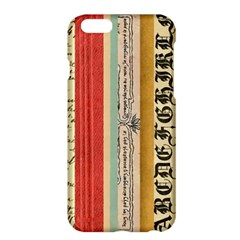 Digitally Created Collage Pattern Made Up Of Patterned Stripes Apple Iphone 6 Plus/6s Plus Hardshell Case