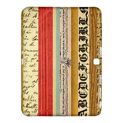 Digitally Created Collage Pattern Made Up Of Patterned Stripes Samsung Galaxy Tab 4 (10 1 ) Hardshell Case