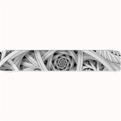 Fractal Wallpaper Black N White Chaos Small Bar Mats