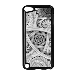 Fractal Wallpaper Black N White Chaos Apple iPod Touch 5 Case (Black)