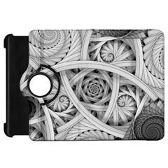 Fractal Wallpaper Black N White Chaos Kindle Fire Hd 7