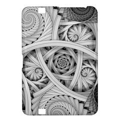 Fractal Wallpaper Black N White Chaos Kindle Fire HD 8.9