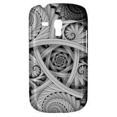 Fractal Wallpaper Black N White Chaos Galaxy S3 Mini