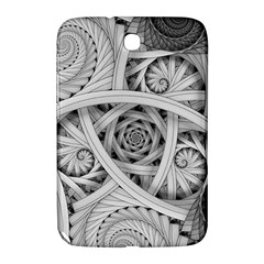 Fractal Wallpaper Black N White Chaos Samsung Galaxy Note 8.0 N5100 Hardshell Case