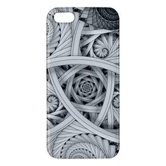 Fractal Wallpaper Black N White Chaos Iphone 5s/ Se Premium Hardshell Case