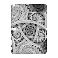 Fractal Wallpaper Black N White Chaos Galaxy Note 1