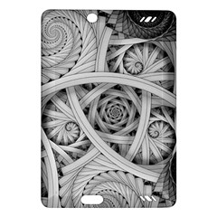 Fractal Wallpaper Black N White Chaos Amazon Kindle Fire HD (2013) Hardshell Case