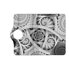 Fractal Wallpaper Black N White Chaos Kindle Fire Hd (2013) Flip 360 Case