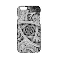 Fractal Wallpaper Black N White Chaos Apple Iphone 6/6s Hardshell Case