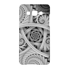 Fractal Wallpaper Black N White Chaos Samsung Galaxy A5 Hardshell Case