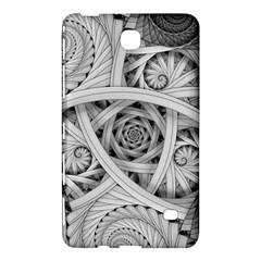Fractal Wallpaper Black N White Chaos Samsung Galaxy Tab 4 (7 ) Hardshell Case
