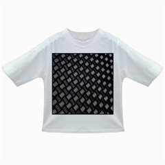 Abstract Of Metal Plate With Lines Infant/Toddler T-Shirts