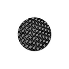 Abstract Of Metal Plate With Lines Golf Ball Marker (10 Pack)