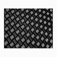 Abstract Of Metal Plate With Lines Small Glasses Cloth (2 Side)