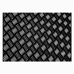 Abstract Of Metal Plate With Lines Large Glasses Cloth