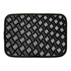 Abstract Of Metal Plate With Lines Netbook Case (medium)