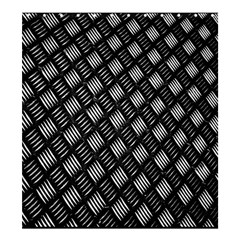 Abstract Of Metal Plate With Lines Shower Curtain 66  X 72  (large)
