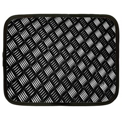 Abstract Of Metal Plate With Lines Netbook Case (XL)