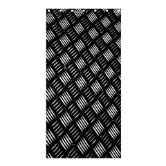 Abstract Of Metal Plate With Lines Shower Curtain 36  X 72  (stall)