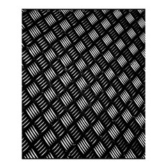 Abstract Of Metal Plate With Lines Shower Curtain 60  X 72  (medium)