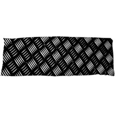 Abstract Of Metal Plate With Lines Body Pillow Case Dakimakura (Two Sides)
