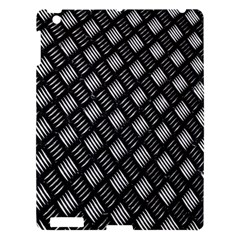 Abstract Of Metal Plate With Lines Apple Ipad 3/4 Hardshell Case