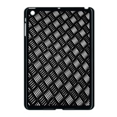 Abstract Of Metal Plate With Lines Apple iPad Mini Case (Black)