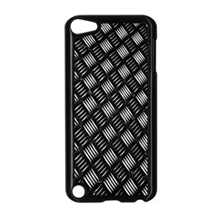 Abstract Of Metal Plate With Lines Apple Ipod Touch 5 Case (black)