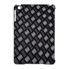 Abstract Of Metal Plate With Lines Apple iPad Mini Hardshell Case (Compatible with Smart Cover)