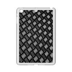 Abstract Of Metal Plate With Lines Ipad Mini 2 Enamel Coated Cases