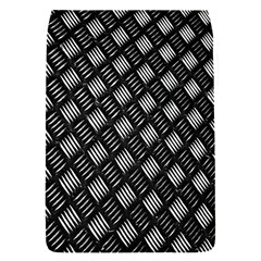 Abstract Of Metal Plate With Lines Flap Covers (S)