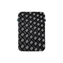 Abstract Of Metal Plate With Lines Apple iPad Mini Protective Soft Cases