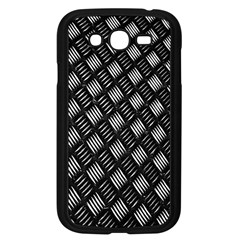 Abstract Of Metal Plate With Lines Samsung Galaxy Grand Duos I9082 Case (black)
