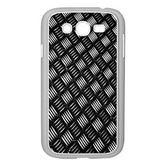 Abstract Of Metal Plate With Lines Samsung Galaxy Grand Duos I9082 Case (white)