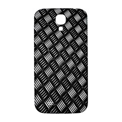 Abstract Of Metal Plate With Lines Samsung Galaxy S4 I9500/i9505  Hardshell Back Case