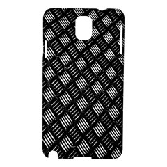 Abstract Of Metal Plate With Lines Samsung Galaxy Note 3 N9005 Hardshell Case